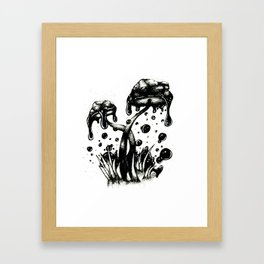 Poisonous Framed Art Print