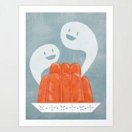 Haunted Gelatin Art Print