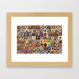 Three Months in Coffee Framed Art Print