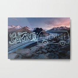Mountain Adventures Metal Print