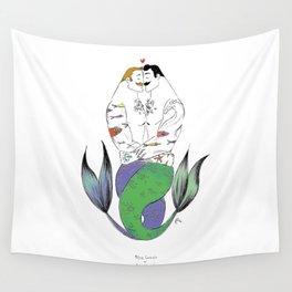 """""""Merman Hug"""" Wall Tapestry"""