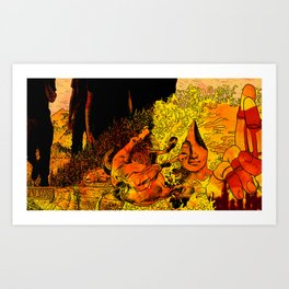 Celebrating Anberlin Art Print