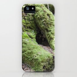 Moss Forest iPhone Case