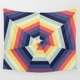 Heptagon Quilt 2 Wall Tapestry
