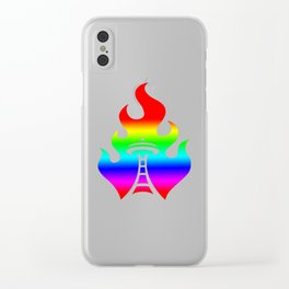 Seattle Riot | Love Clear iPhone Case