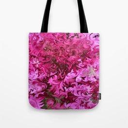 Pink Wave Tote Bag