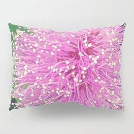 Pink Poof Ball Flower Pillow Sham
