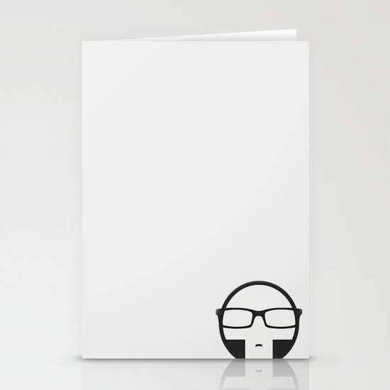 Plastic Sinister Band Logo Stationery Cards