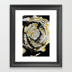 i fell in love with the sun Framed Art Print