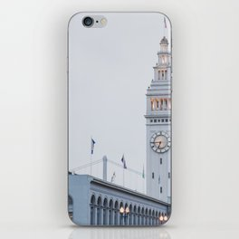 At the Ferry Building in San Francisco iPhone Skin