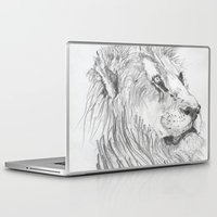leon Laptop & iPad Skins featuring Leon by Amy Lawlor Creations