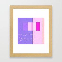 Squares combined no. 10 Framed Art Print