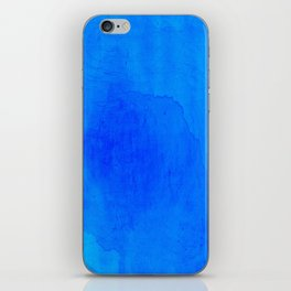DARK BLUE WATERCOLOR BACKGROUND  iPhone Skin