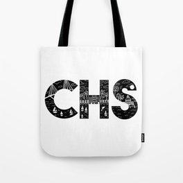 Charleson Landscape Doodle Tote Bag
