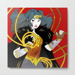 Lasso of Truth Metal Print