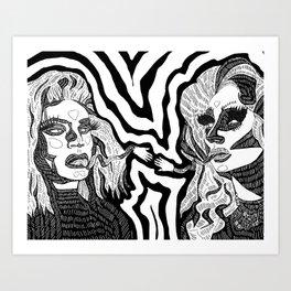 Creation of Brian Art Print