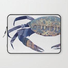 Manhole Crab with Lace Laptop Sleeve