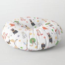 Cat Queens Floor Pillow