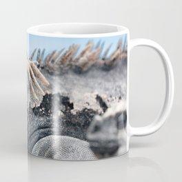 Funny rasta hair marine iguana Coffee Mug