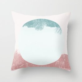 Treeset Throw Pillow
