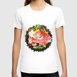 Single rose T-shirt
