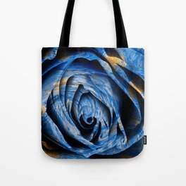 Starry Night Rose Tote Bag