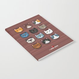 I love cats Notebook