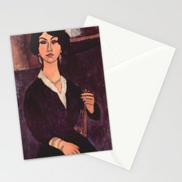 "Amedeo Modigliani ""Almaiisa Seated"" Stationery Cards"