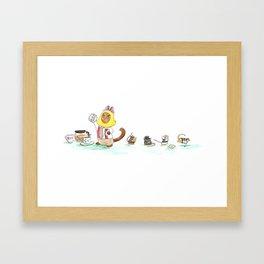 Sugar Heist Framed Art Print
