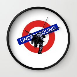 Underground Wall Clock