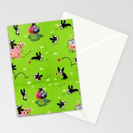 Mirabelle goes to the park a happy dog adventure Stationery Cards