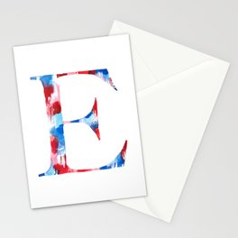Letterforms : E Ella Stationery Cards