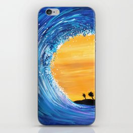 Tidal Wave iPhone Skin