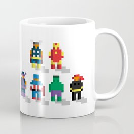 Earth's Mightiest Pixels Coffee Mug