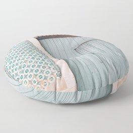 The mint door Floor Pillow