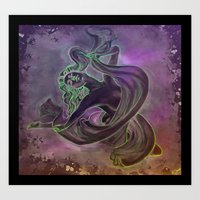 Galatea Art Print