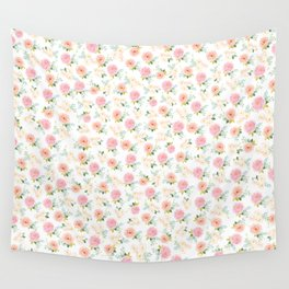 Floral 02 - Small Flowers Wall Tapestry