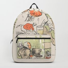 """Henri de Toulouse-Lautrec """"In the Skating Professional Beauty"""" Backpack"""