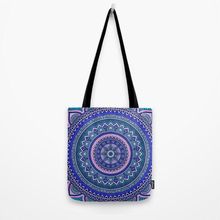 Hippie mandala 29 Tote Bag