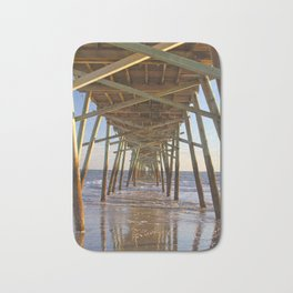 Under the Pier, Into the Sea Bath Mat