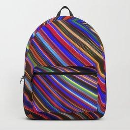 Wild Wavy Lines XVIII Backpack