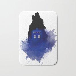 Dr.Who, Art, Design, Dr. Who Art, BadWolf, Bad Wolf Bath Mat