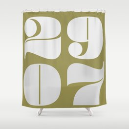 29th July Shower Curtain