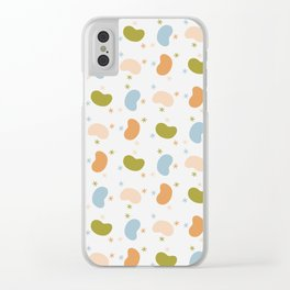 Beans & Stars Clear iPhone Case