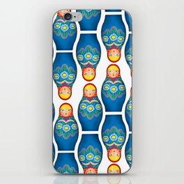 Matrioskas iPhone Skin