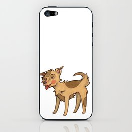Lucky the Mixed Breed iPhone Skin
