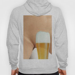 Beer and Naked Woman Hoody
