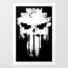 Space Punisher Art Print
