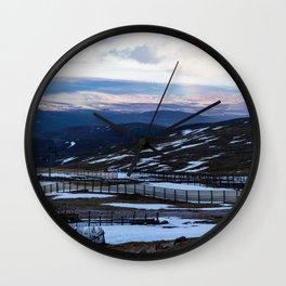 CairnGorm Mountain Wall Clock