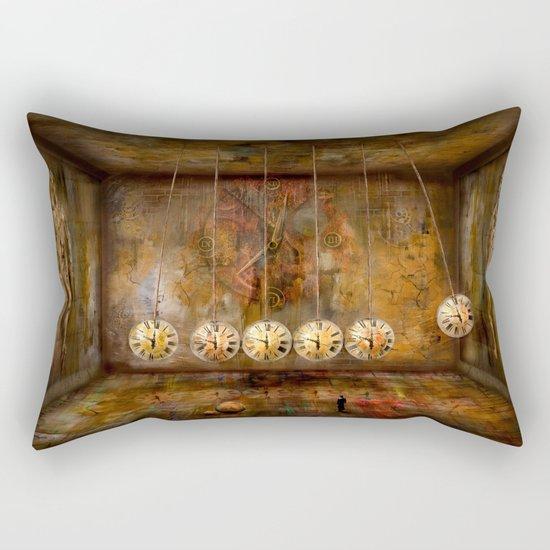 Zeituhr ! Rectangular Pillow
